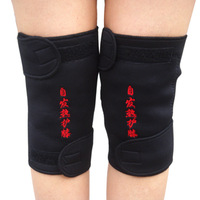 New arrival tourmaline self-heating magnetic therapy kneepad thermal kneepad ultra-thin