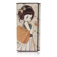 Betty boop BETTY women's young girl cartoon wallet three fold long design wallet 4078