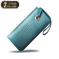 Women's wallet female long design 2013 female wallet cowhide women's handbag