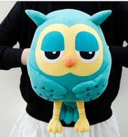 Owl plushs toys  warm hand pillow gift for creative gift christmas gift for birthday gift for all festival 50cm free shipping