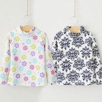 2014 winter print boys clothing girls clothing baby child thickening turtleneck t-shirt tx-2372  sxl