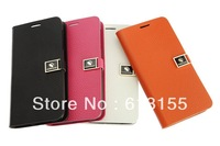For Lenovo S650 Case,New Arrival 100% genuine Wallet Stand Leather Cover Case For Lenovo S650  case Free shipping