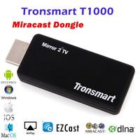Newest Tronsmart T1000 Miracast DLNA dongle Mirror2TV Wireless Display HDMI adapter chromecast killer Miracast/DLNA/EZCAST