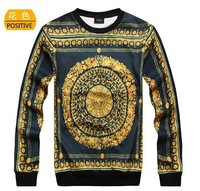 2014 retro religious  hoodies  pullover men's sweatshirt
