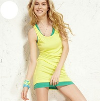 20% OFF New !!! Fashion Summer Woman Lady Sleeveless  Tops T Shirt O Neck Candy Color Vest Loose Free Shipping