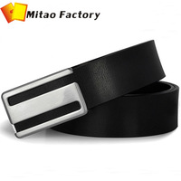 2014 Mitao Factory New Arrival Luxury Birthday Gift Wholesale Genuine Casual Fashion Designer Cow Leather Waist Belt For Men