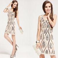 new 2013 fashion woman brand high quality embroidery women dress,women dress, women clothing,dresses new fashion 2013