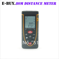 D015 80m laser distance meter laser rangefinder accuracy 2mm Maximum measuring distance 80m