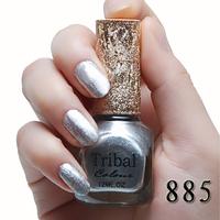 Senior rose essential oil eco-friendly solid color nail polish heavy metal pure silver Lasting color Environmental Non-toxic