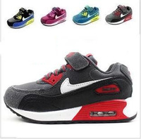 free shipping 2014 new children air cushion shoes, boys and girls brand fashion casual shoes, kids sports shoes