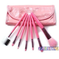 Portable 7 cosmetic brush set cosmetic brush set beauty tools chromophous professional