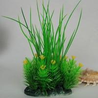 Green aquatic plants artificial plants fish tank aquarium plants decoration after decoration