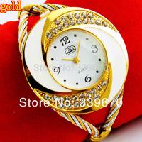 women's designer women rhinestone bracelet quartz watch women dress watch items- Free shipping  100pcs
