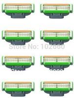 8pcs/pack Shaving razor blades for men Grade  AAAA Quality (MP 8s) Free Shipping EU version HOT