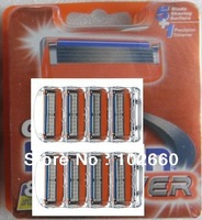 Free Shipping high Quality Men's Brand new Razor Blades (16 pieces/lot ) FP power 8s original packing for russia&us&eu versions