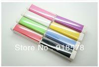Full Capacity Lipstick POWER BANK,2600MAH portable external battery charger Universal power pank for Iphone 5/Ipad/Samsung