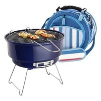 Mini high temperature BBQ grill cooler bag furnace ice pack furnace camping stove