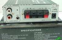 Freeshipping Lepai LP - 2020A+ 12v digital power amplifier black/silver