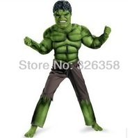 New Avengers Hulk costumes for kids/ Fancy dress/Halloween Party decorations supplies +free shipping
