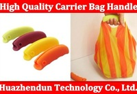 soft silicon durable grocery shopping bag carrier bag handle Free shipping 5PCS