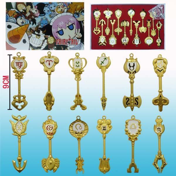 Lucy Fairy Tail Keys Key set fairy tail lucy