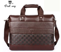 Hot Sell !!! 2014 new commercial boutique handbag Large capacity leather totes Men's Messenger Bag Shoulder Bags Brand Briefcase