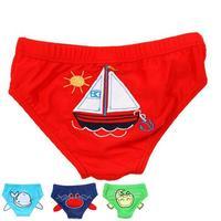 E0390 New Children's Swim Trunks Baby Briefs MINI Cartoon swimwear Bathing Shorts Boys Swim briefs swimming pants