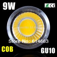 10pcs 3W 6W 9W GU10/E27/GU5.3/E14 COB 120 Degree Led Spotlight Bulb Lamp High Power Led Downlight For Living Room