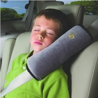 Child car safety products safety belt cover pillow dual