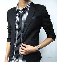 British Fashion suit silm coats Mens casual Stunning slim fit Jacket Blazer Short Coat one Button suit
