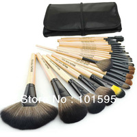 Professional 24 Makeup Brushes 24PCS Cosmetic Facial Makeup Brushes Kit MakeUp Brush Set with Bag Make Up Brushes tools