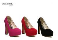 Free Shipping 2014 Summer New Fashion Korean PRINCESS Style Pumps Super High Heels Sexy Ladies