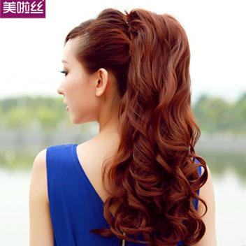 ... ponytail-straps-fake-ponytail-of-hair-ponytail-volume-big-wave-lace