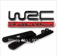 Subaru WRC Grill Badge Red Rally WRX STI Emblem Lo
