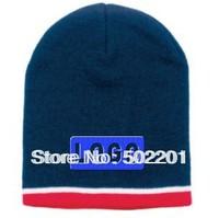 Custom High density Jacquard stripe beanie cap hat Made of 100% acrylic knit gorro men