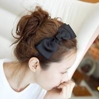 Accessories big elegant bow hair bands fashion headband accessories hair maker hair pin hairpin