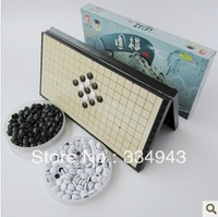 Free shipping the table games family foreign classic board games FIVE CHESS Five in a Row  A portable magnetic folding