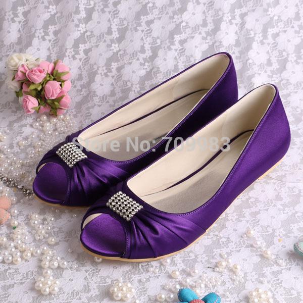 11 Colors Magic Bride Custom Design Purple Shoes Heel Wedding Drop Shipping Peep Toes Plus Size FREE SHIPPING