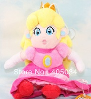 Plush peach princess doll pink plush toys super mario dolls Christmas gift 10pcs/lot