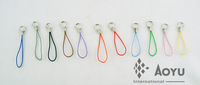 fast delivery free shipping cheap cell phone charm string and strap