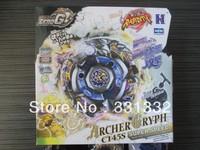 1pcs Beyblade Metal Fusion 4D set  Metal Beyblade Zero G BBG12 Archer Gryph C145S Children kids toys