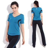 Yoga clothes set fitness clothing aerobics clothing female