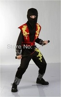New Cosplay Clothes Ninja Costumes for kids Fancy dress Halloween Party decorations Child performance wear