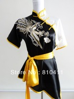 free shipping,Size customized Tai chi uniform kung fu wushu clothing martial arts clothes suitable for men and women