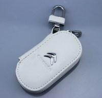 Citroen genuine leather car key wallet bombards c5c4l c2 sienna special car key cover