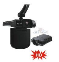 "Freeshipping On Sell 2.5""LCD High Quality1280*720 Full HD Night Vision Car DVR"