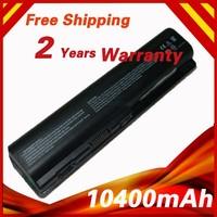 10400mAh Laptop Battery for HP DV4 DV5 DV6 G71 G50 G60 G61 G70 DV6 DV5T HSTNN-IB72 HSTNN-LB72 HSTNN-LB73 HSTNN-UB72 HSTNN-UB73