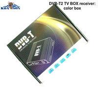 High Speed DVB-T2 Mobile Digital Car DVB T2 TV Receiver 40km/h max MPEG2/4 H.264 Decoding 1080P HD TV tuner HDMI,Free shipping