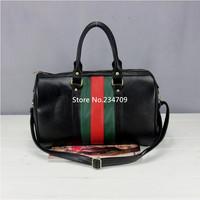 Free shipping,hot!fashion simple ladies striped handbag pu leather popular leather bags women leather handbags women handbag