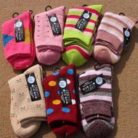 10 socks female 100% cotton wool circle socks stucco women's socks thickening thermal socks